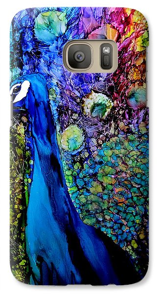 Peacock II Galaxy S7 Case by Karen Walker