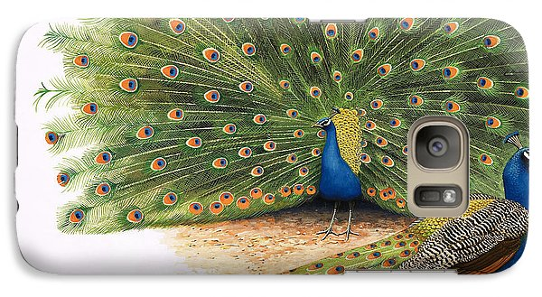 Peacocks Galaxy S7 Case by RB Davis
