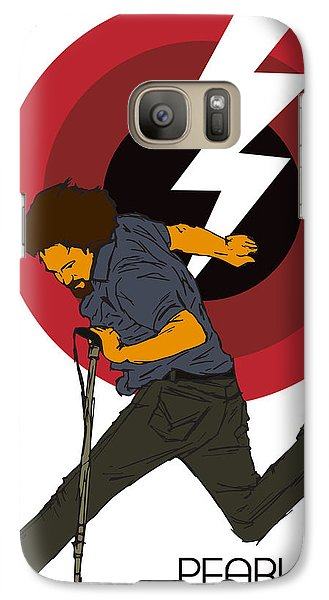 Pearl Jam Lightning Bolt Galaxy Case by Tomas Raul Calvo Sanchez