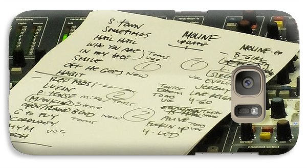 Pearl Jam Set List- Moline Galaxy Case by Gary Koett