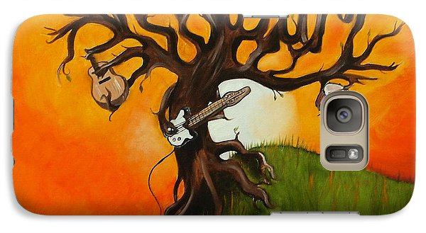 Pearl Jam Tree Galaxy Case by Tarah Davis