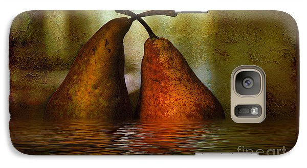 Pears In Water Galaxy S7 Case by Kaye Menner