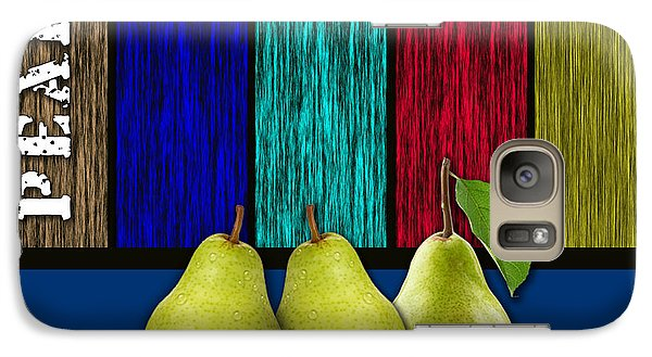 Pears Galaxy Case by Marvin Blaine