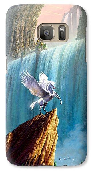 Pegasus Kingdom Galaxy S7 Case by Garry Walton