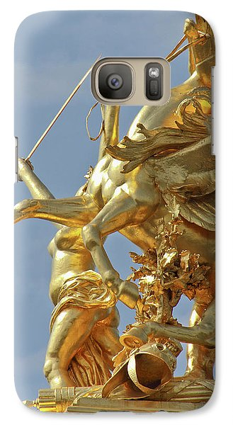 Pegasus Statue At The Pont Alexander Galaxy S7 Case by William Sutton