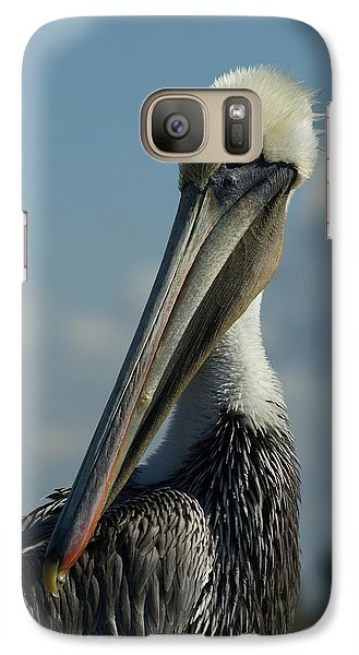 Pelican Profile Galaxy S7 Case by Ernie Echols