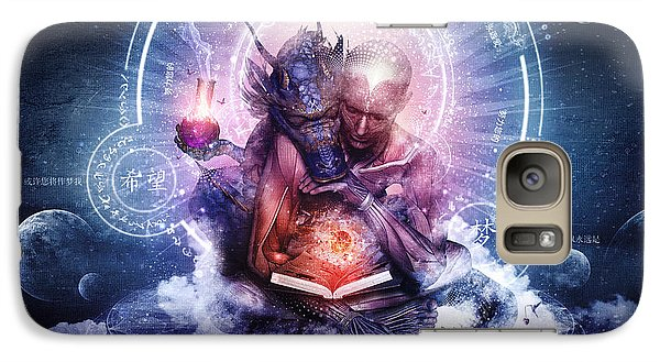 Perhaps The Dreams Are Of Soulmates Galaxy Case by Cameron Gray