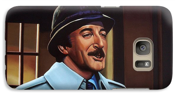 Peter Sellers As Inspector Clouseau  Galaxy Case by Paul Meijering