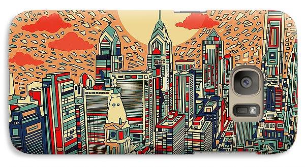 Philadelphia Dream Galaxy S7 Case by Bekim Art