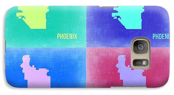 Phoenix Pop Art Map 1 Galaxy Case by Naxart Studio