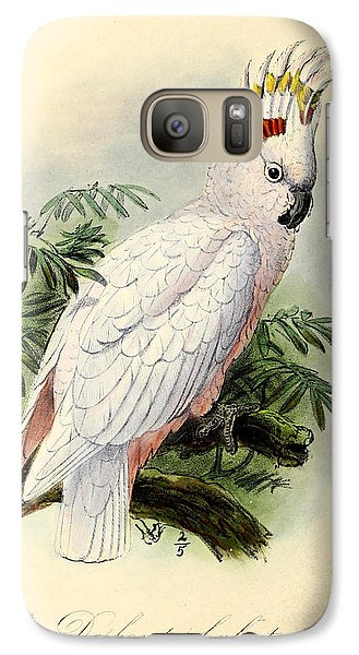 Pied Cockatoo Galaxy Case by J G Keulemans