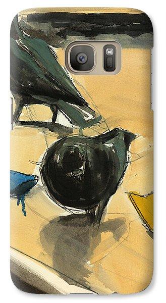 Pigeons Galaxy S7 Case by Daniel Clarke