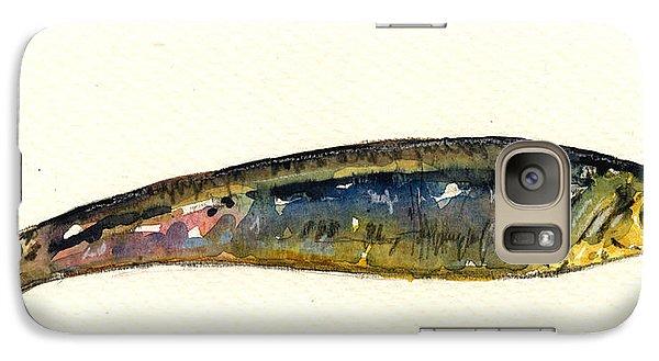 Pilchard Galaxy S7 Case by Juan  Bosco