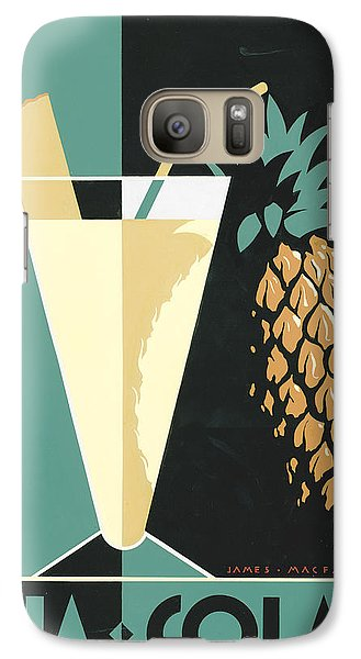 Pina Colada Galaxy S7 Case by Brian James