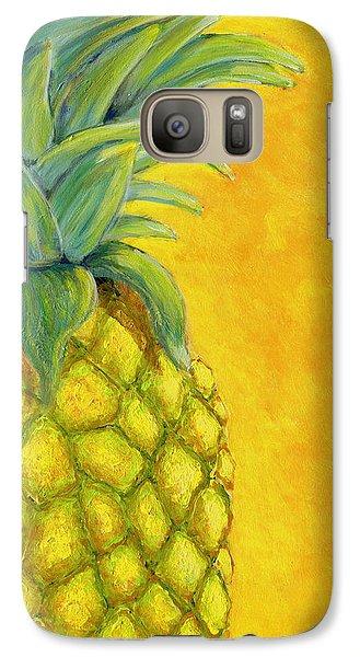 Pineapple Galaxy S7 Case by Karyn Robinson