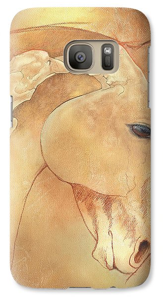 Poll Meet Atlas Axis Galaxy Case by Catherine Twomey