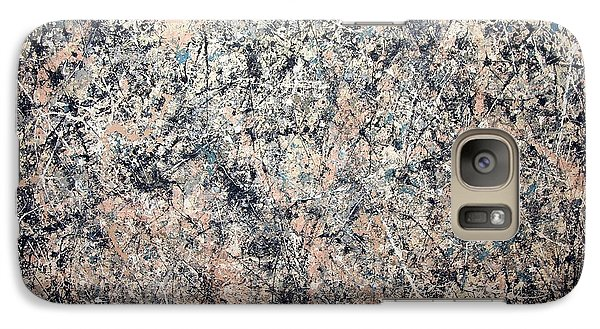 Pollock's Number 1 -- 1950 -- Lavender Mist Galaxy S7 Case by Cora Wandel