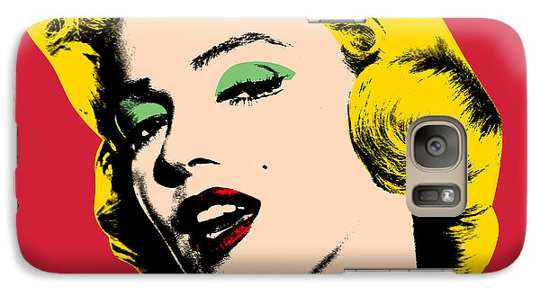 Pop Art Galaxy S7 Case by Mark Ashkenazi