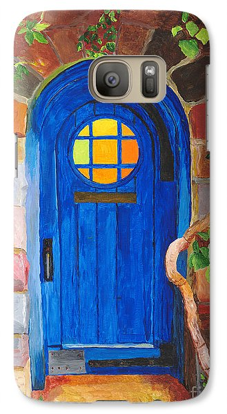 Galaxy Case featuring the painting Portal by Rodney Campbell