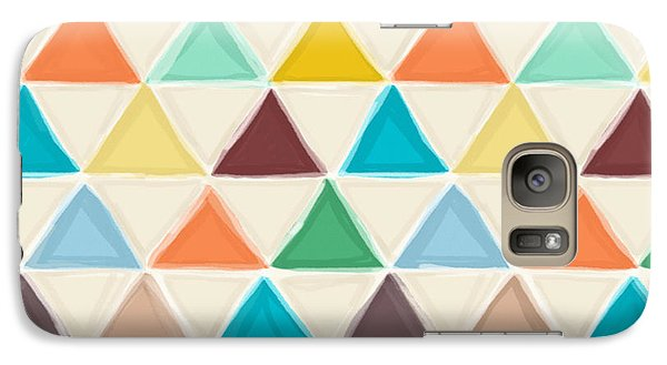 Portland Triangles Galaxy Case by Sharon Turner