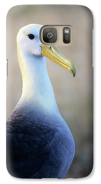 Portrait Of A Waved Albatross Galaxy Case by Thomas Wiewandt