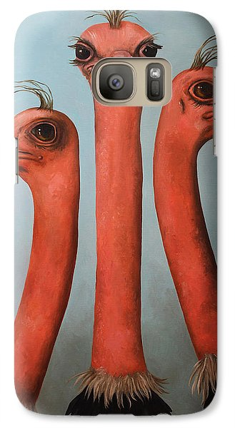 Posers 2 Galaxy Case by Leah Saulnier The Painting Maniac