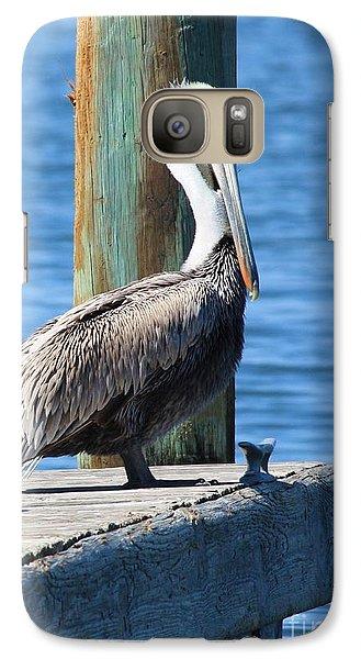 Posing Pelican Galaxy Case by Carol Groenen