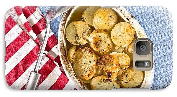 Potato Dish Galaxy S7 Case by Tom Gowanlock