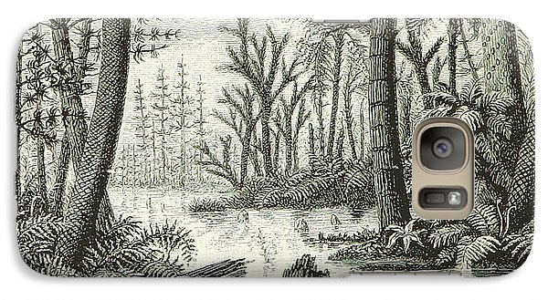 Galaxy Case featuring the photograph Prehistoric Flora, Carboniferous by British Library