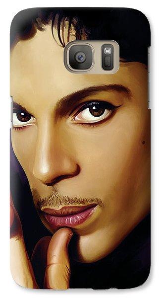 Prince Artwork Galaxy S7 Case by Sheraz A
