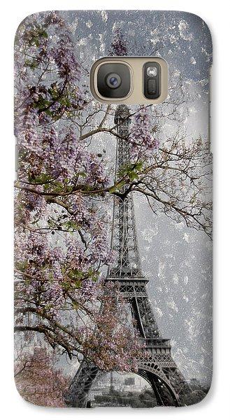 Printemps Parisienne Galaxy S7 Case by Joachim G Pinkawa