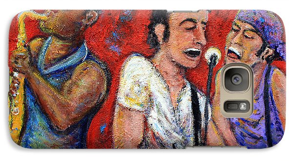 Prove It All Night Bruce Springsteen And The E Street Band Galaxy S7 Case by Jason Gluskin