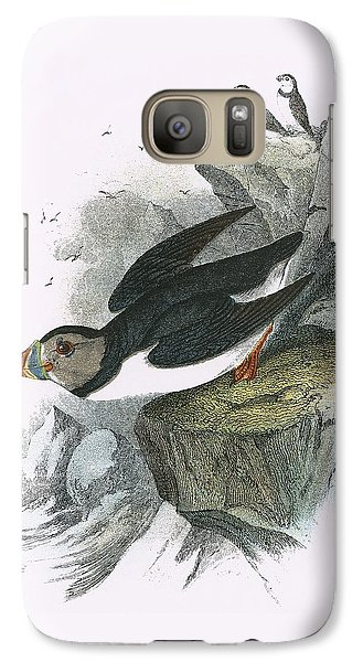 Puffin Galaxy S7 Case by English School