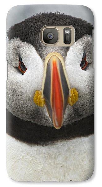 Puffin It Up... Galaxy S7 Case by Nina Stavlund