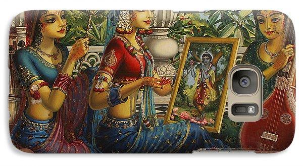 Purva Raga Galaxy Case by Vrindavan Das