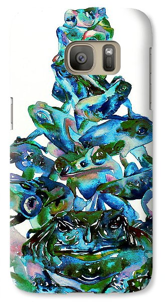 Pyramid Of Frogs And Toads Galaxy S7 Case by Fabrizio Cassetta