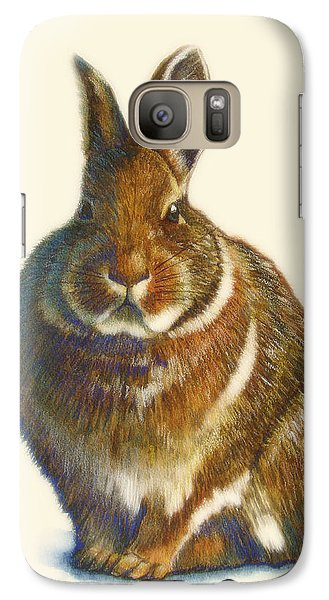 Rabbit Galaxy Case by Catherine Noel