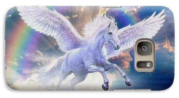 Rainbow Pegasus Galaxy S7 Case by Jan Patrik Krasny