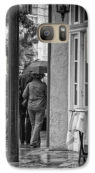 Rainy Day Lunch New Orleans Galaxy S7 Case by Kathleen K Parker