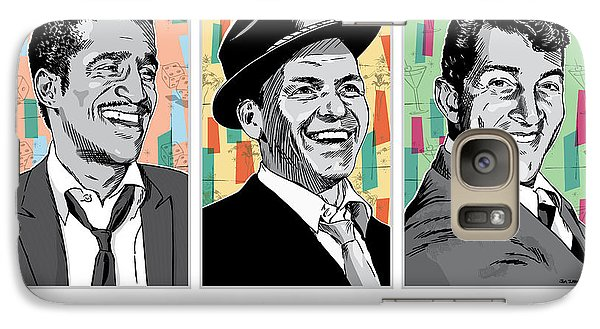 Rat Pack Pop Art Galaxy Case by Jim Zahniser