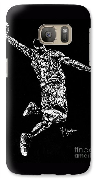 Reaching For Greatness #6 Galaxy Case by Maria Arango