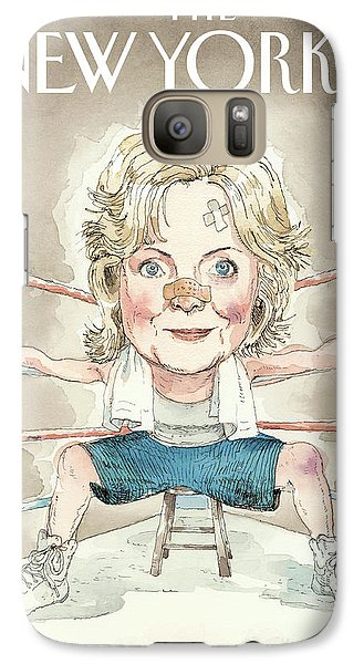 Ready For A Fight Galaxy Case by Barry Blitt