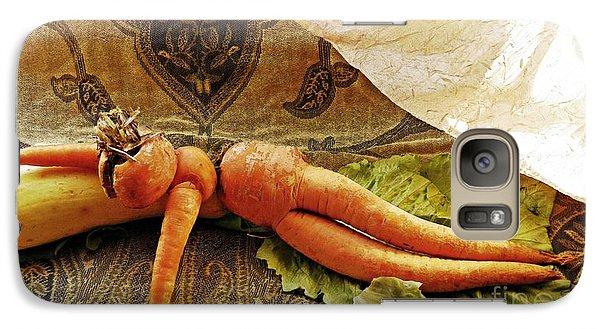 Reclining Nude Carrot Galaxy S7 Case by Sarah Loft