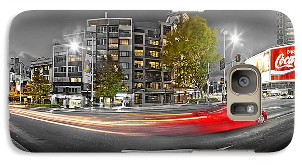 Red Lights Sydney Nights Galaxy S7 Case by Az Jackson