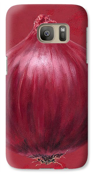 Red Onion Galaxy Case by Brian James
