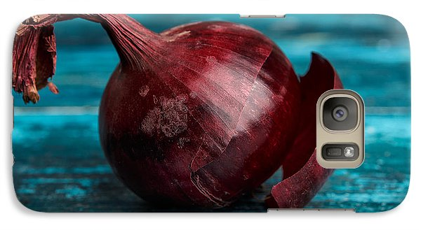 Red Onions Galaxy S7 Case by Nailia Schwarz
