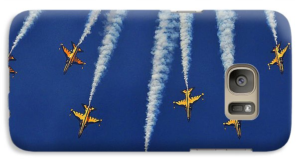 Galaxy Case featuring the photograph Republic Of Korea Air Force Black Eagles by Science Source