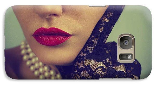 Retro Portrait Galaxy Case by Jelena Jovanovic