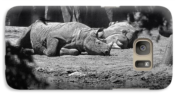 Rhino Nap Time Galaxy S7 Case by Thomas Woolworth