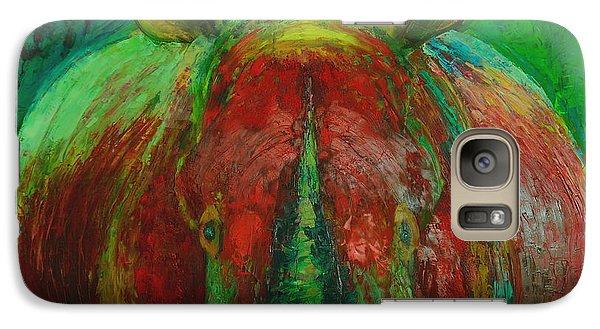 Rhinocerus Galaxy S7 Case by Magdalena Walulik